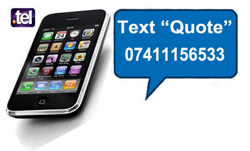 text us for a free quote